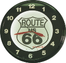 Neon wall clocks add nostalgia and class to the place you decorate